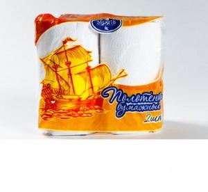 Полотенца бумажные, сдвоенная упаковка