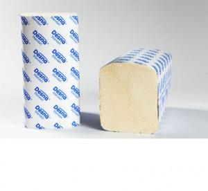 Полотенца бумажные Standart 1-сл V сложения
