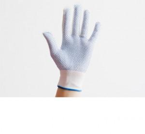 Перчатки нитриловые, белые, с ПВХ