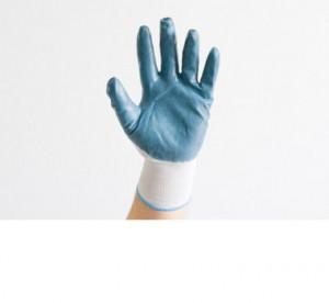 Перчатки нейлоновые, с нитриловым покрытием